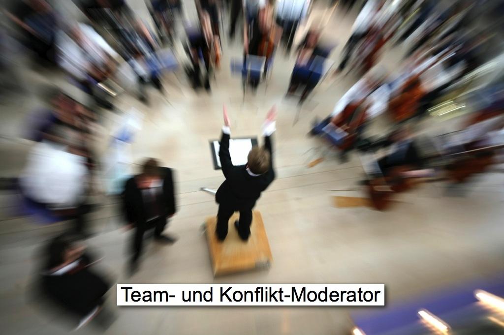 Team- und Konflikt-Moderator